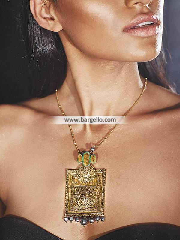 Artificial Gold Pendant Necklace Halifax England UK Confluence Jewelers Pendant Set