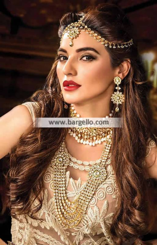 Artificial Bridal Jewellery Sets in Silver Salisbury UK Choker Necklace and Headpiece