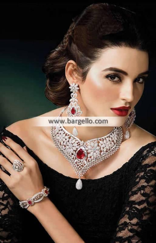 Artificial Diamond Sets Salisbury UK Exclusive Diamond like Set Pakistan