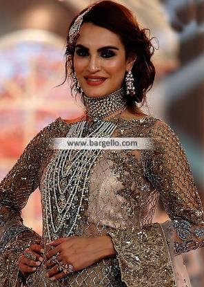 Pakistani Artificial Bridal Jewelry Sets Newcastle UK Silver Zircon Jewellery Set