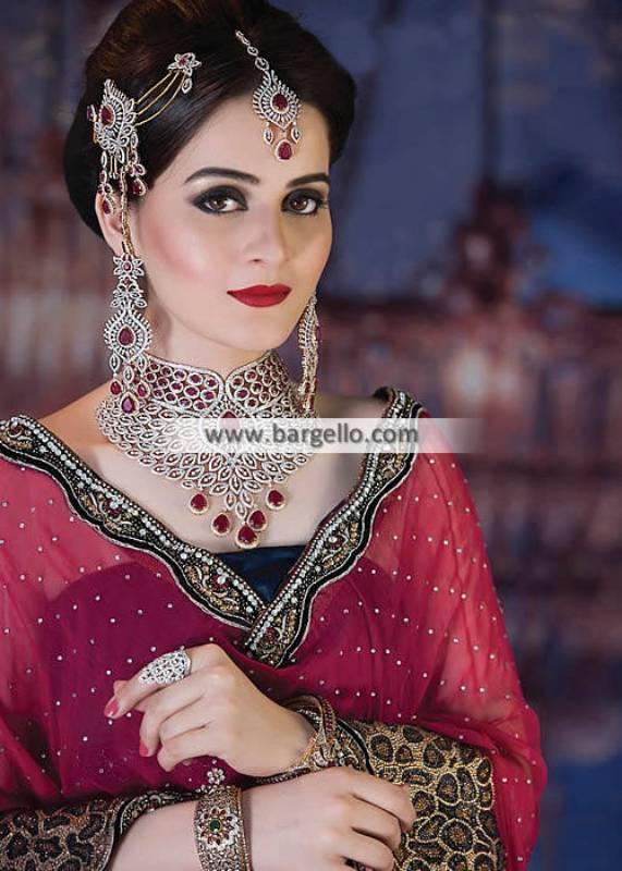 Attractive Bridal Choker Jewellery Sets Dahran Saudi Arabia Bridal Jhoomer Sets