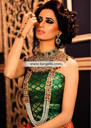 Luxurious Bridal Choker Set Riyadh Saudi Arabia Luxurious Jewellery Sets Pakistan