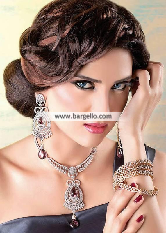 Pakistani Silver Jewellery Set Milton UK for Many Occasions Delicate Jewellery Set