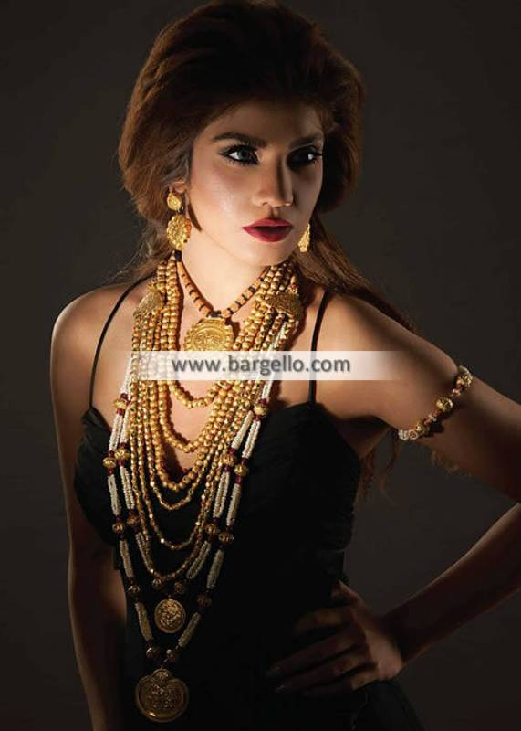Awesome Long Rani Haar Set Rajhistani Style Jewellery Sets Pakistan