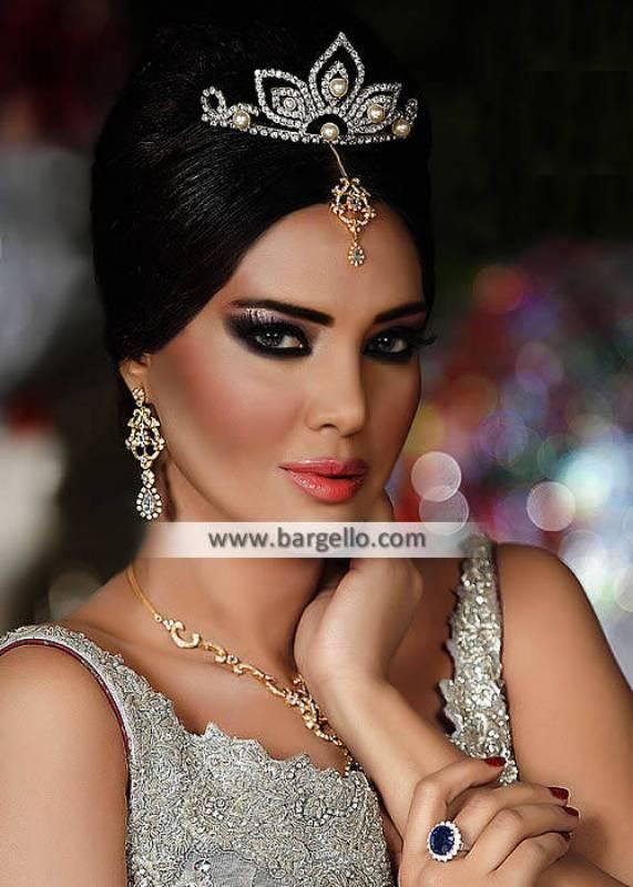 Gorgeous Party Wear Jewelry Set Saihat Al Qatif Saudi Arabia Tiara Crown Jewelry Sets