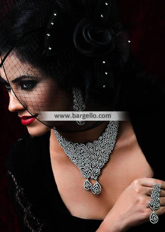 Artificial Diamond Jewelry Sets Jeddah Saudi Arabia Diamond Like Jewelry Sets