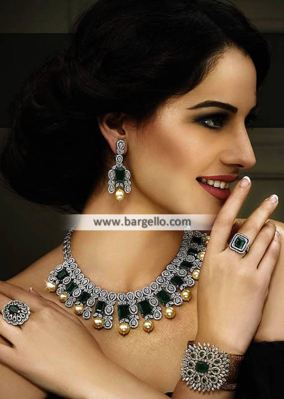 Delicate Jewellery Set Oldham UK Party Wear Artificial Jewellery Sets Pakistani