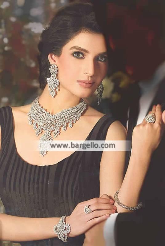 Zircon Jewellery Party Jewellery Sets Manhattan New York USA