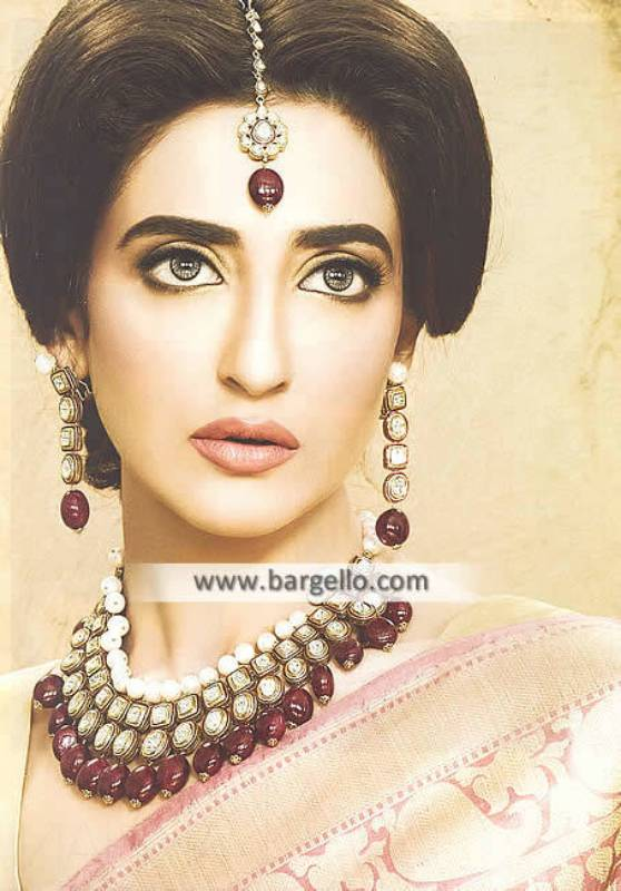 Pakistani Designer Zircon Jewellery Sets Arlington Washington DC USA