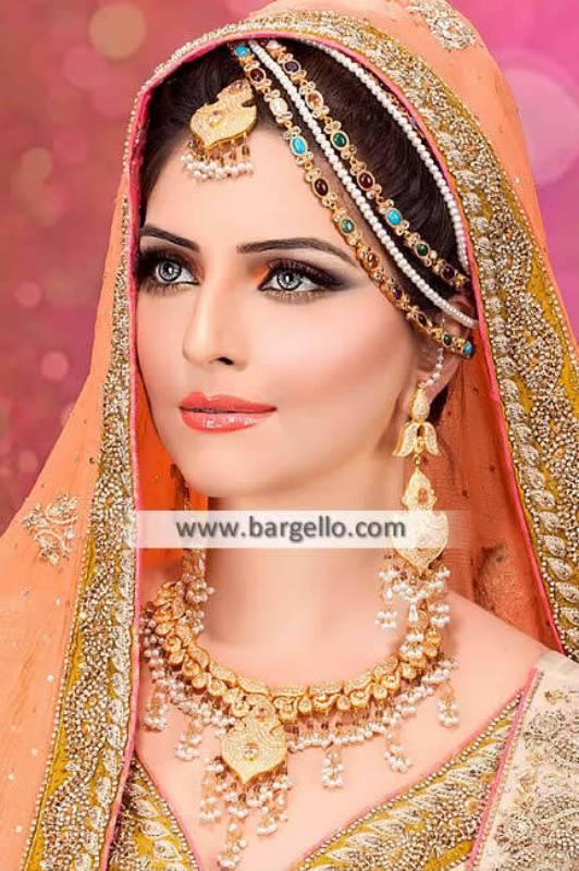 Indian Rani Haar Bridal Jewellery Sets Sugarland Texas TX USA