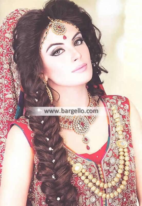 Gold Plated Pakistani Bridal Jewellery Sets Pittsburgh Pennsylvannia PA US