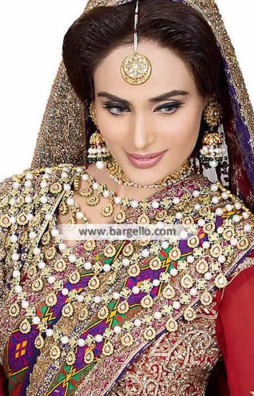 Glorious Bridal Rani Haar Jewellery Sets Novi Michigan US Gold Plated Jewellery Sets