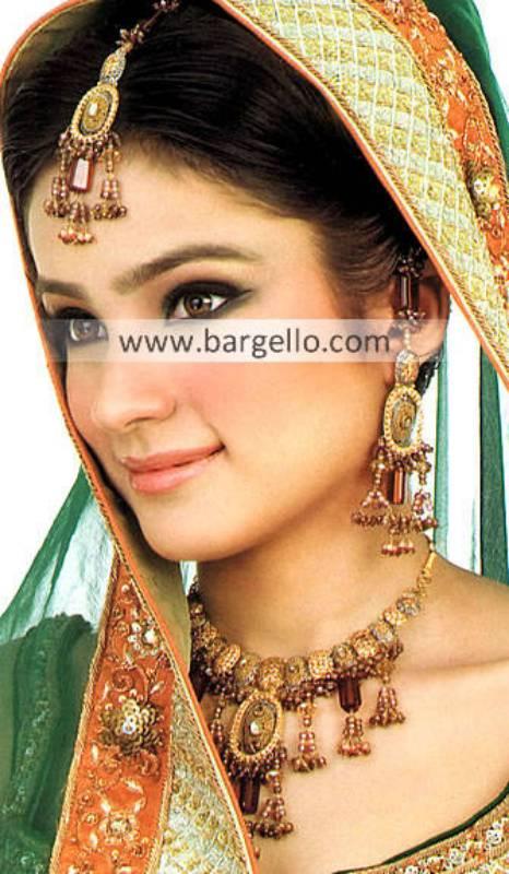 Awesome Pakistani Bridal Jewellery Sets Newcastle UK Gold Jewellery Sets
