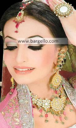 Exquisite Indian Wedding Jewellery Sets Glenfield Australia Kundan Zircon Jewellery Sets