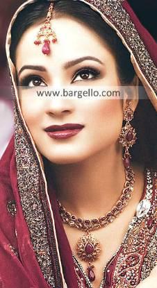 Asian Bridal Jewellery Sets Sydney Australia Kundan Ruby Bridal Jewellery Sets