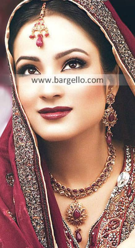 Asian Bridal Jewellery Sets Sydney Australia Kundan Ruby Bridal Jewellery Sets