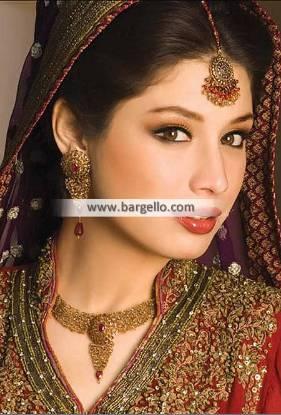 Pakistani Bridal Jewellery Sets Miami FL Florida USA with Tika