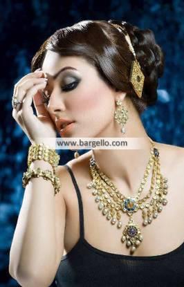 Classy Pakistani Party Jewelry San Mateo USA Silver Jewelry Sets Pakistan