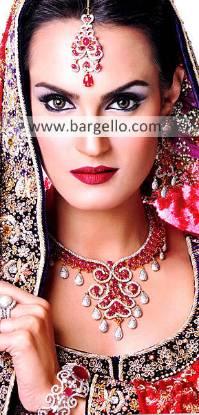 Pakistan Gold Plated Jewellery, Choose Quality Pakistan Gold Plated Jewelry with Fancy Stones