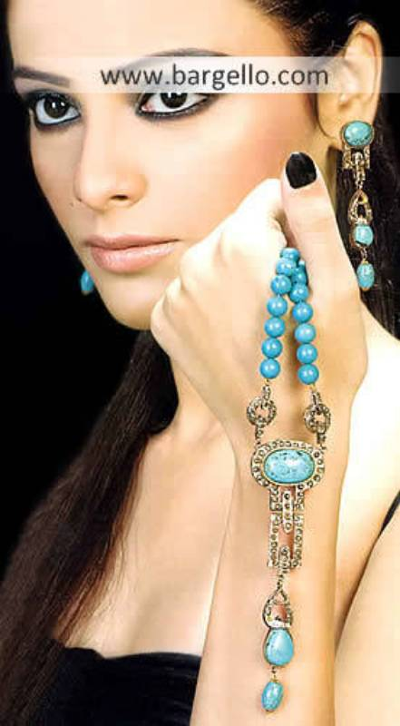 Turquoise Stone Jewelry Turquoise Jewelry Online Gold Plated Indian Faux Jewelry, Junk Jewelry India