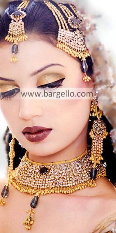 Jewellery Designs, Bridal Jewellery Designs, Pakistani & Indian Jewellery Gold Plated Diamond Like