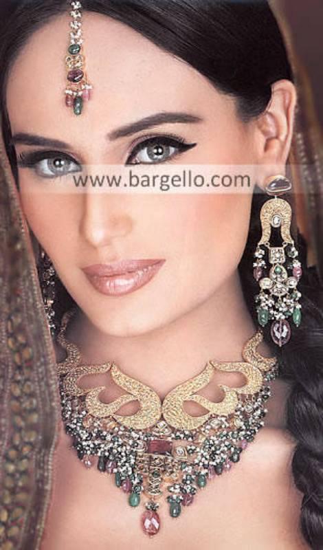 Indian Bridal Kundan Imitation Jewellery Wedding Bangles Bracelets Earrings Indian Costume Jewelry