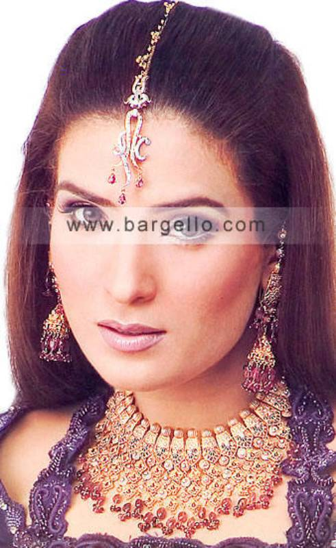 Traditional Light Bridal & Evening Jewellery Sets in London