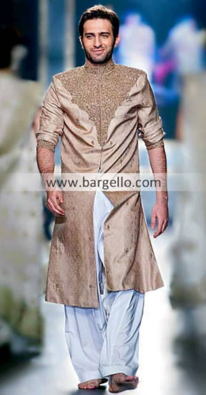 Mehdi Sherwanis Designer Sherwani by Mehdi Lahore Fashion Show Mehdi