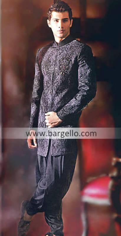 Pakistani Indian Ethnic Haute Couture Sherwanis & Asian Menswear Pakistan India, Sherwani in USA