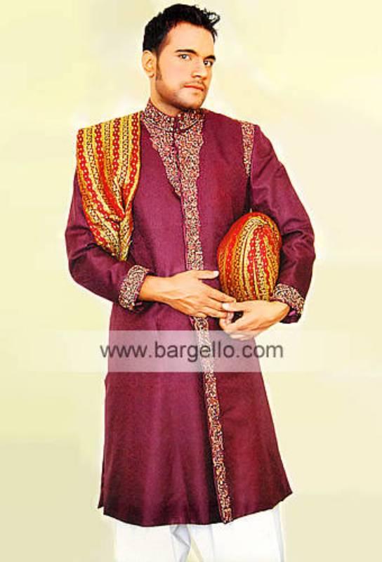 Sherwani for Wedding Men's Sherwani Wedding Sherwani Groom's Sherwani