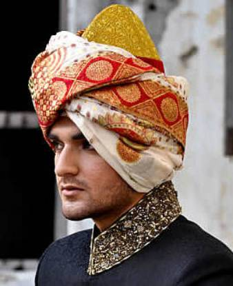 Indian Wedding Turbans, Groom Wedding Turban, Sherwani Wedding Turban, Beautiful Asian Turban