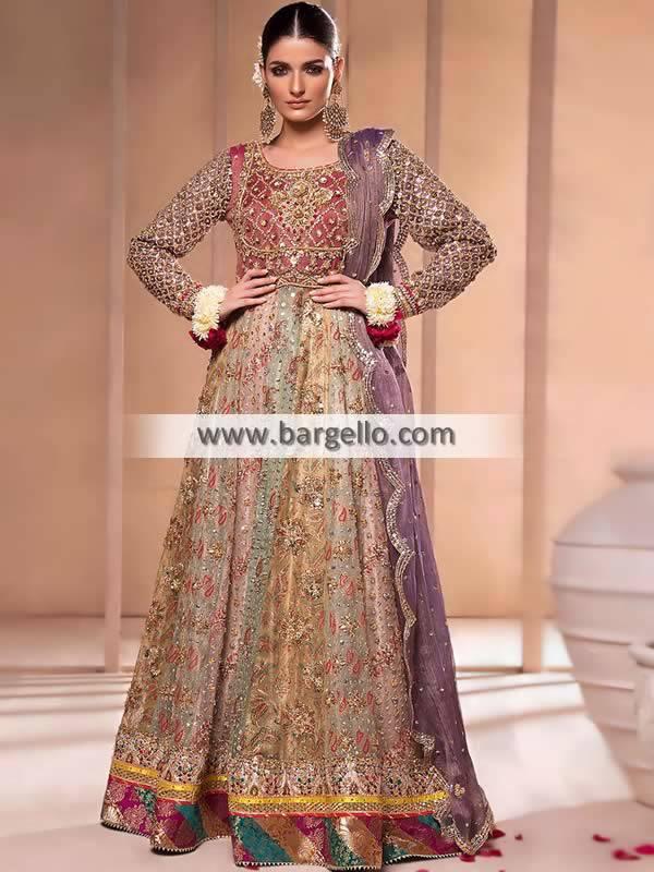 Picture of Multi Crinum Anarkali Suit