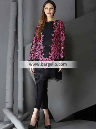 Pakistani Evening Suits Dorset England UK Latest Evening Suits Pakistan Butterfly Blush by HSY, HSY Luxury Pret Collection