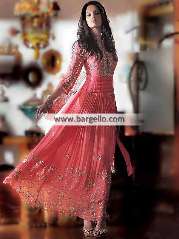 Pakistani Indian Anarkali Latest Anarkali style dresses With Shalwar Churidar in Calgary Toronto
