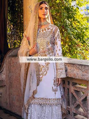 Designer Sharara Suits, Sharara Suits for Nikah, Sharara Suits Riyadh, فساتين زفاف الرياض السعودية, Sharara Suits Saudi Arabia