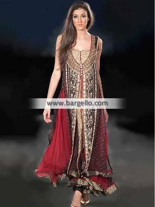 Indian Anarkali Outfits For Women Girls Indian Designer Anarkali Dresses UK USA Canada