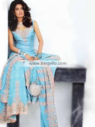 Pakistani Bridal Gharara Designer Bridal Gharara UK USA Canada Australia