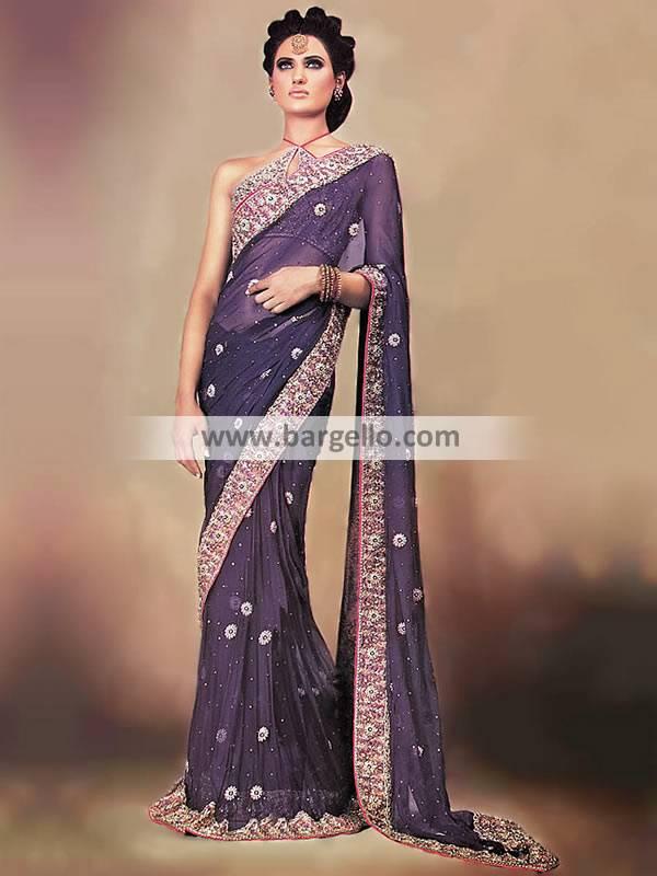 Pakistani Bridal Saree Buy Pakistani Designer Saree Pakistani Wedding Saree