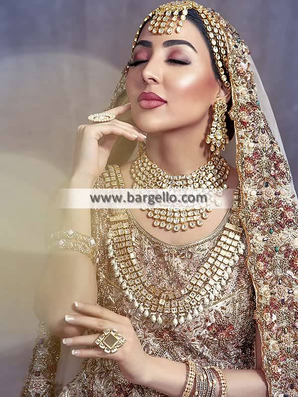Bridal Kundan Jewellery Set Pakistani Designer Kundan Jewellery Sets Matha Patti Rani Haar